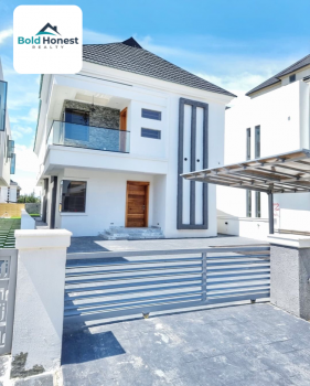Luxury Newly Built Affordable 5 Bedroom Detached Duplex with Bq, Lekki County Estate, Ikota, Lekki, Lagos, Detached Duplex for Sale