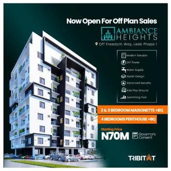 House, The Ambiance Height, Freedom Way, Lekki Phase 1, Lekki, Lagos, Block of Flats for Sale