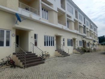 4 Bedroom Terrace Duplex with 1 Room Bq, Guzape, Guzape District, Abuja, Terraced Duplex for Rent