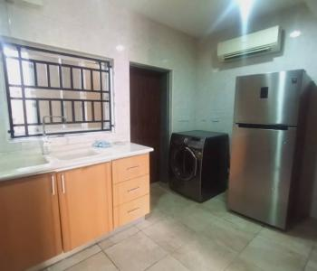 Serviced 4 Bedroom Terrace Duplex with Bq, Private Estate, Victoria Island (vi), Lagos, Terraced Duplex for Rent