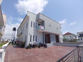 Luxury 4 Bedroom Semidetached Duplex with a Room Bq, Lakeview 2, Lafiaji, Lekki, Lagos, Semi-detached Duplex for Rent