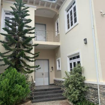 Fully Serviced 4 Bedroom Duplex with Bq and Laundry, Guzape District, Abuja, Semi-detached Duplex for Rent