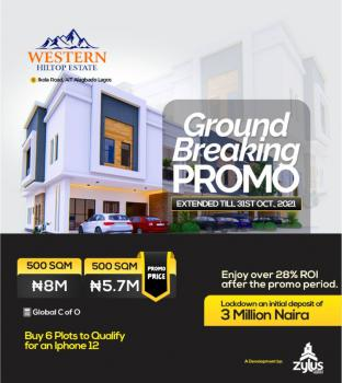 Hectares of Land Available, Western Hiltop Estate, Ikola, Alagbado, Ifako-ijaiye, Lagos, Land for Sale
