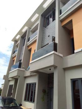 Massive 4 Bedroom Terrace Duplex + Big Bq in 2 Floors, Very Spacious, Lekki Scheme 2, Opposite Abraham Adesanya, Ajah, Lagos, Terraced Duplex for Rent