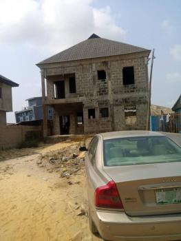 a Massive Distress of a Carcass Duplex, in 325sqm, Eputu, Ibeju Lekki, Lagos, Eputu, Ibeju Lekki, Lagos, Detached Duplex for Sale