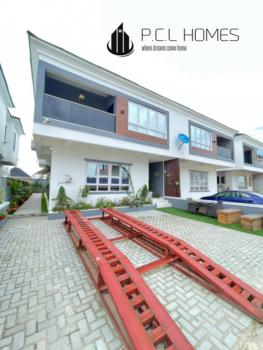 Fully Serviced Alluring 4 Bedroom Semidetached House with a Bq, Vgc, Lekki Phase 2, Lekki, Lagos, Semi-detached Duplex for Sale