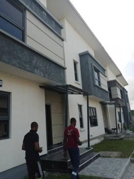 Serviced 4 Bedroom Terrace Available, Fara Park Scheme 2, Sangotedo, Ajah, Lagos, Terraced Duplex for Rent