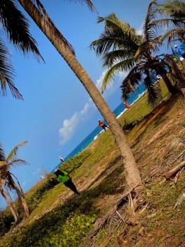 Most Affordable Beach Front Estate, 10mins Drive From Amen Estate., Eleko, Ibeju Lekki, Lagos, Commercial Land for Sale