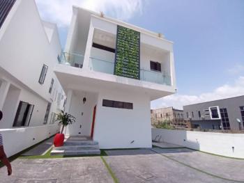 4 Bedroom Semi Detached Duplex with a Room Bq, Lafiaji, Lekki, Lagos, Semi-detached Duplex for Sale