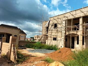 Uncompleted 4 Bedroom Duplex with a Bq and Security House, Centenary City., Enugu, Enugu, Terraced Duplex for Sale