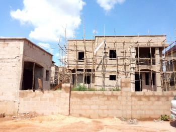 Uncompleted 4 Bedroom Duplex with Boys Quarters., Ancesta Estate Before Centenary Gate Along Enugu-ph Expressway, Enugu, Enugu, Semi-detached Duplex for Sale