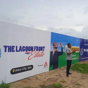 Residential Lagoon Front Estate with Cofo in a Serene Location, Alaro City, Epe, Lagos, Residential Land for Sale