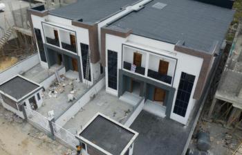 Well Finished 4 Bedroom Semi-detached, Chevron, Lekki, Lagos, Semi-detached Duplex for Sale