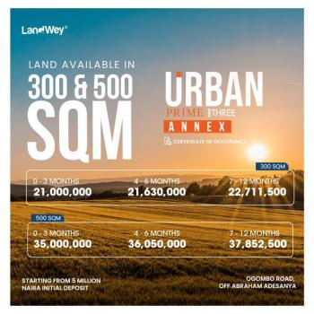 Affordable Land with C of O, Ogombo, Ajah, Lagos, Mixed-use Land for Sale