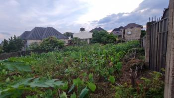 Strategic Fenced & Gated Plot of Land Close to Major Tarred Road, Off Old Airport Road,thinkers Corner, Enugu, Enugu, Residential Land for Sale