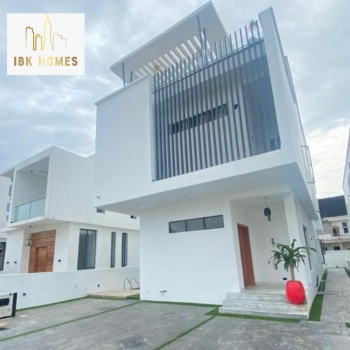 5 Bedroom Fully Detached Duplex with Swimming Pool, Cinema and Penthouse, 2nd Toll Gate,, Lekki, Lagos, House for Sale