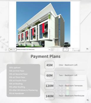 Off Plan Luxury 4 Bedrooms Terrace Duplex with Self Compound, Lekki Phase 1, Lekki, Lagos, Terraced Duplex for Sale