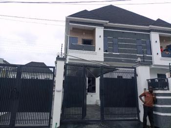 a Well Built Front Semi Detached Duplex in a Secured Estate, Chevron Alternative, Lekki, Lagos, Semi-detached Duplex for Sale