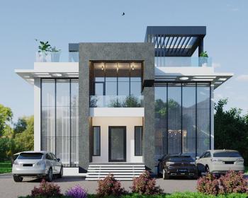 5 Bedrooms Fully Detached Smart Mansion, Cowrie Creek Estate, Ikate Elegushi, Lekki, Lagos, Detached Duplex for Sale
