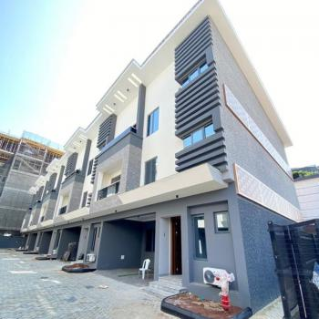 Newly Built 4 Bedroom Terrace Duplex with 1 Room Bq, Off Admiralty Way, Lekki Phase 1, Lekki, Lagos, Terraced Duplex for Sale
