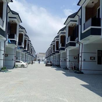 Beautiful Newly Build 4bedroom Terrace Duplex, Lekki, Lagos, Terraced Duplex for Sale