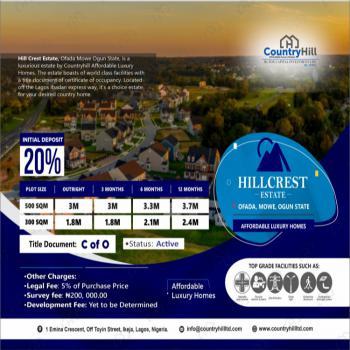 Land, Hill Crest Estate, Mowe Ofada, Ogun, Land for Sale