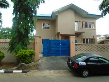 a 4 Bedroom Detached House with 1 Room Service Quarters. Rent = N10 Million and Service Charge = N3 Million, No 1 Odoh Ibeto Close, Off Osun Crescent, Maitama District, Abuja, House for Rent