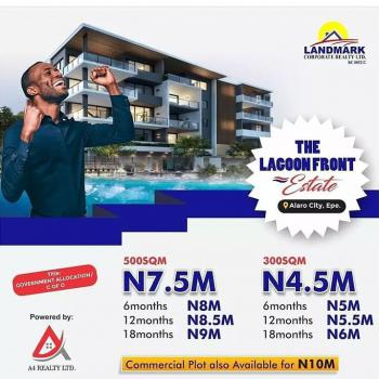 Own a Plot of Land at Lagoon Front with Initial Deposit of 500k, Lagoon Front Estate, Epe, Lagos, Residential Land for Sale