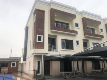 Newly Built, Luxurious 4 Bedroom Duplex & Bq in a Serviced and Gated Estate., Lekki Right, Lekki Phase 1, Lekki, Lagos, Terraced Duplex for Sale