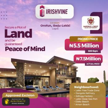 Irishvine Estate, Promo on Irishvine Estate., Ibeju Lekki, Lagos, Residential Land for Sale