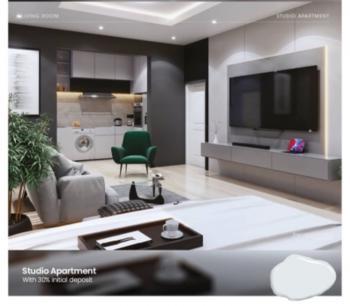 Smart 1 Bedroom Apartment, Sangotedo, Ajah, Lagos, Block of Flats for Sale