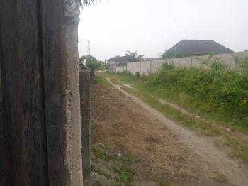 a Dry Upland Fence Around with Gate with Governors Consent, Back of Peninsula Garden Estate, Ogombo, Ajah, Lagos, Residential Land for Sale