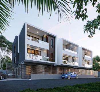 3 Bedroom Terrace Apartment with Bq, Creeklane Estate By Pinnock Beach Estate, Ajiran Lekki Phase 1, Lekki, Lagos, Terraced Duplex for Sale