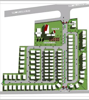 Fully Serviced Plots in an Estate, Golf Club Resort and Lakes Road., Lakowe, Ibeju Lekki, Lagos, Residential Land for Sale
