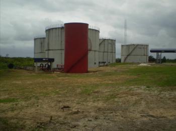 Tankfarm with Private Jetty, Ikoro Abassi, Uyo, Akwa Ibom, Tank Farm for Sale