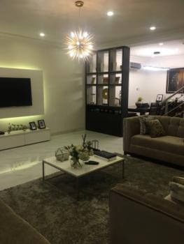 Furnished and Serviced with 24hours Power 4-bedroom Terrace + Bq, Oniru, Victoria Island (vi), Lagos, Terraced Duplex for Rent