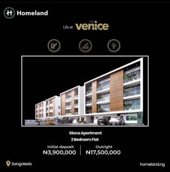 2 Bedroom Smart Apartment Venice, Sangotedo, Ajah, Lagos, Block of Flats for Sale