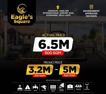 100% Land in a Residential Area, Okeogun, Ibeju Lekki, Lagos, Mixed-use Land for Sale