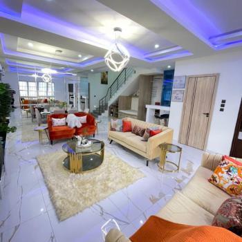 Fully Serviced Alluring 4 Bedroom Semi-detached Duplex with Bq, Lekki, Lagos, Semi-detached Duplex for Sale