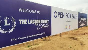 Get The Exclusively Luxurious Epe Lagoon Front Property, Promo! Just Before The Popular Alaro City, Lekki Free Trade Zone, Epe, Lagos, Mixed-use Land for Sale