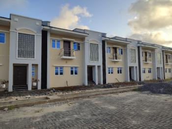 4 Bedroom Luxury Terraces Title Cofo  in Well Secured Enviroment, Monastery Road Close to Shoprite Mall, Novare Mall and Some Luxury Estate, Sangotedo, Ajah, Lagos, Flat / Apartment for Sale