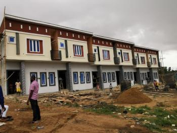 Modern 3 Bedroom Terrace with Mortgage Facilities, Brains and Hammers City, Life Camp, Abuja, Terraced Duplex for Sale