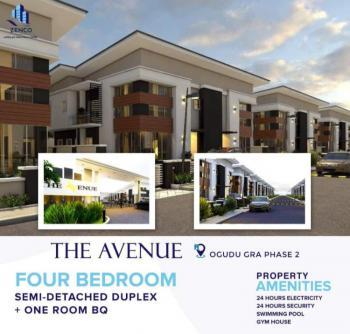 The Avenue: 4 Bedroom Duplex, ., Gra, Ogudu, Lagos, Semi-detached Duplex for Sale