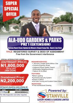 Affordable Land, By Winners University Site, Along Onitsha / Owerri Road, Ogbaku, Onitsha, Anambra, Residential Land for Sale