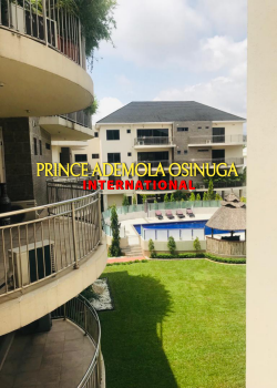 One of The Best Serviced 4 Bedroom Apartments + Bq+pool+ Gym, Old Ikoyi, Ikoyi, Lagos, Flat / Apartment for Rent