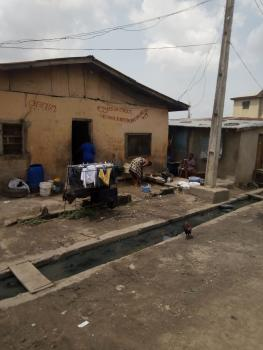 Bungalow on a Plot of Land, Ajiwun Street Off Pedro, Bariga, Shomolu, Lagos, Detached Bungalow for Sale