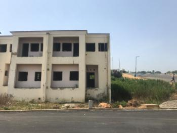 3 Bedroom Duplex with Bq (carcass), Naf Valley Estate, Asokoro District, Abuja, Semi-detached Duplex for Sale