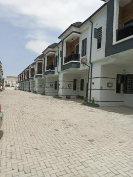 Newly Built 4 Bedrooms Terraced Duplex with Spacious Rooms, Orchid Road, Lekki Phase 2, Lekki, Lagos, Terraced Duplex for Rent