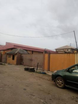 2 Bays Warehouse on 2000 Square Meters Land Area, Okota, Ago Palace, Isolo, Lagos, Warehouse for Sale