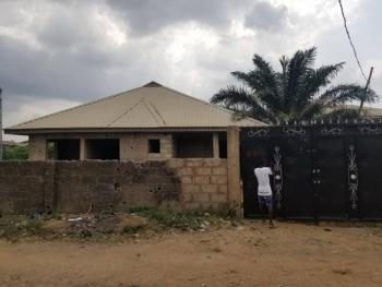 Uncompleted Bungalow Consisting of 2 and 3 Bedroom Flat Fenced and Gat, Asore, Ajuwon, Ajuwon, Ifo, Ogun, Detached Bungalow for Sale